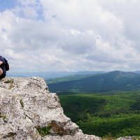На вершине Мангуп Кале :: Наталия Григорьева