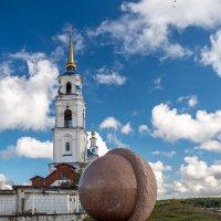 этюд с шаром и храмом. :: E volution