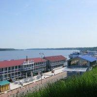 Вид на пристань :: Марина Таврова