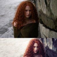 Ретушь до и после :: Лана Лазарева