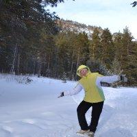 Снежные танцы... :: Хлопонин Андрей Хлопонин Андрей