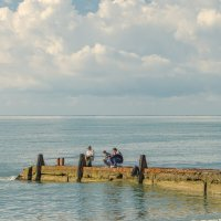 Сухумские рыбаки :: Светлана Винокурова