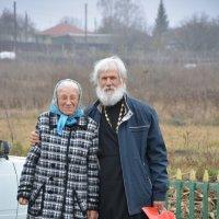 Батюшка и матушка :: Анцупов Сергей