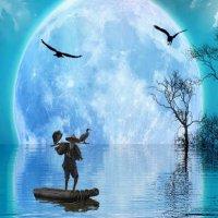 Голубая луна :: irina Schwarzer