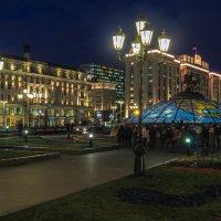 Вечер на Манежной :: юрий поляков