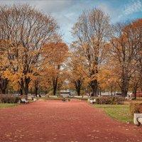 В осеннем парке :: Сергей Кичигин