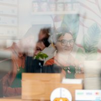 В кафе. :: Mihail Mihaylov