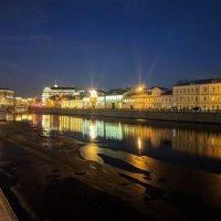 Первый лёд на  Москва - реке :: Марина Птичка