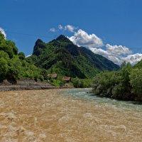 Слияние рек Кубань и Худес :: Дмитрий Емельянов