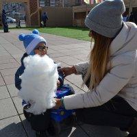 Маленький дедушка Мороз... :: Андрей Хлопонин