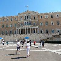 Здесь работает парламент Афин. :: Natali