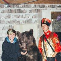 Олег и Медведь :: Елена Черняева
