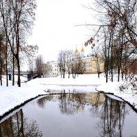 Зимний парк :: Дмитрий Печенкин