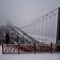 Стеклянный мост в Китае, Хуньчунь! :: Ирина Антоновна