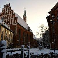 Рига ! Первый день зимы. ! Удивительно, но это правда, выпал снег ! :: Рита S