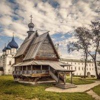 Деревянное зодчество :: Нина Богданова