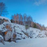 Скалистые берега реки Каменка :: Ольга Соколова