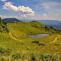 Там, где горы и долины... :: Людмила Зайцева