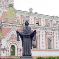Скульптура Покрова пресвятой Богородицы :: Вера Щукина