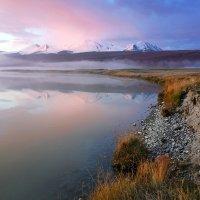 Туманное утро на плато Укок :: Дмитрий Сенотрусов
