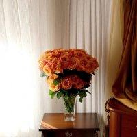 Розы в интерьере :: Надежд@ Шавенкова