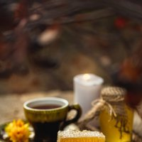 Чаепитие с мёдом :: Татьяна Афанасьева