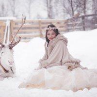 Герда и северный олень :: Anna Lashkevich