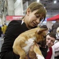 Собака и хозяева ОЧЕНЬ похожи друг на друга...) :: Тамара Бедай