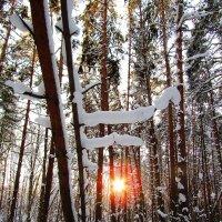Уходящее солнце :: Андрей Снегерёв