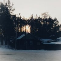 домик в деревне :: Елена Елена