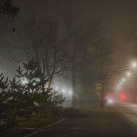 Ночь туманная :: Константин Бобинский