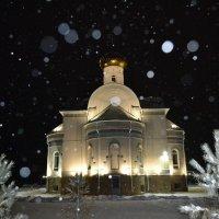 Венчание зимой в храме...Венец православной свадьбы. :: Георгиевич