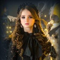 Ангел в черном - 2 :: Татьяна Фещенко