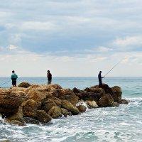 о рыбаках и комментаторах :: Александр Корчемный