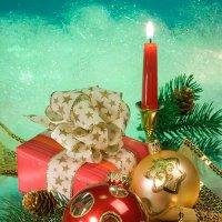 Новогодняя открытка(2) :: Ольга Бекетова