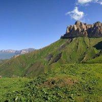 перевал Актопрак гора Лха :: Александр Богатырёв