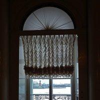 Вид на Неву из окна Эрмитажа (Санкт-Петербург) :: Ольга И