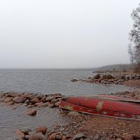 Берег Ладожского озера в декабре :: VL