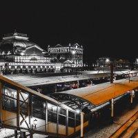 Жд вокзал в Красноярске :: Вадим Басов