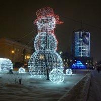 Снеговик :: # fotooxota
