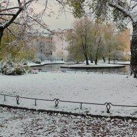 Зимний пейзаж в октябре :: Andzhin
