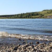 маленький залив реки Томь :: Валентина Ильиных