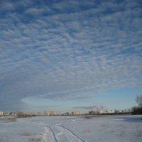 Зимние облака :: Anna Ivanova