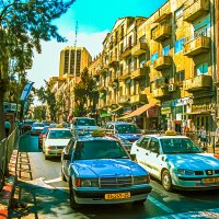 Иерусалим. Улица Кинг Джордж. :: Игорь Герман