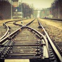 Железная дорога. Разветвление путей. :: Inga Catlaka