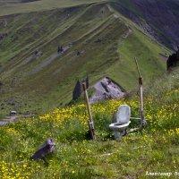 горный туалет :: Александр Богатырёв