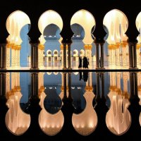 В мечети шейха Заеда :: Рустам Илалов