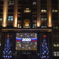 Москва, 27 декабря 2019, скоро Новый 2020 Год или Они думают о нас 365 дней в году... :: Владимир Павлов