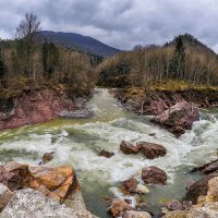 Порог Киши на реке Белая (Адыгея) :: Аnatoly Gaponenko