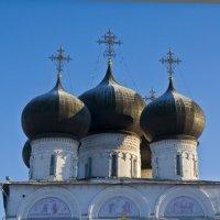 Купола в лучах зимнего солнца. :: Андрей Синицын